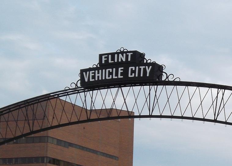 Downtown Flint, Michigan (file photo)