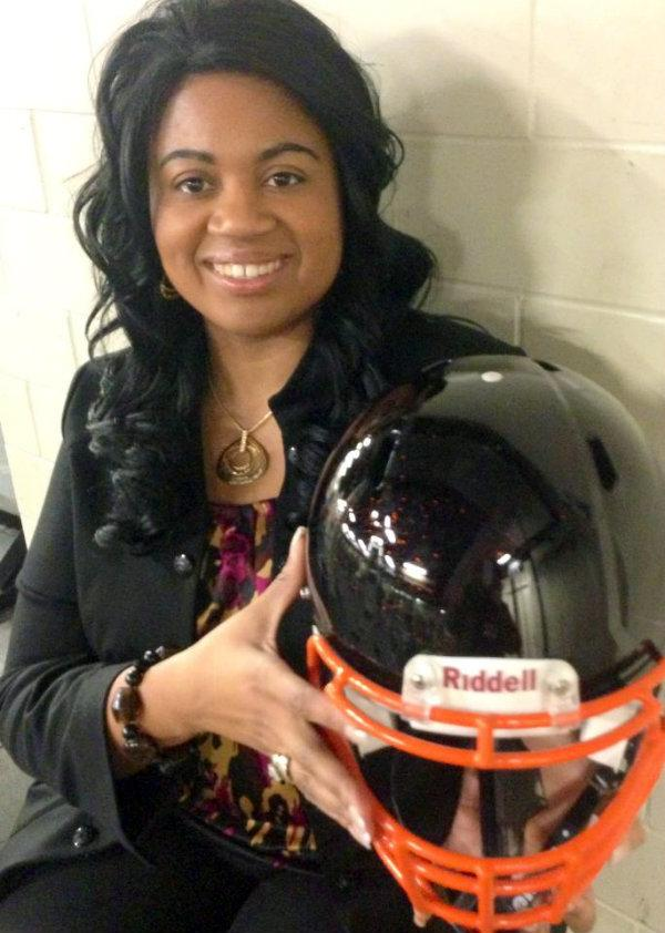 Incoming Muskegon Heights High School 'Head of School' Carla Turner-Laws poses for a photo.