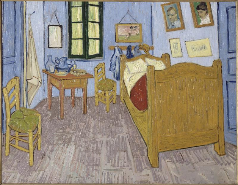 """Bedroom in Arles"" by Vincent van Gogh"