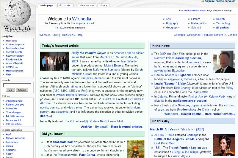Wikipedia is now becoming more accepted in cultural institutions and academia.