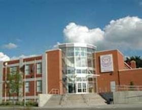 The Cesar Chavez Academy high school campus in Detroit