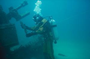 Shipwreck Diver