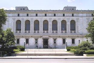 The Detroit Public Library.