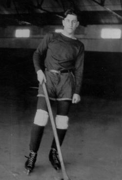 Eddie Kahn was a captain of the Michigan Hockey Team