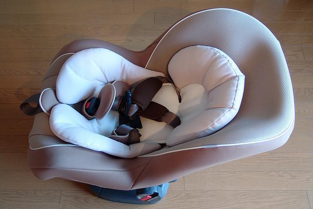 Child safety seat.