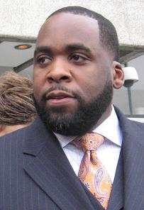 Former Detroit Mayor Kwame Kilpatrick (file photo)