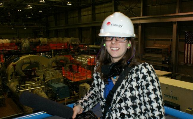 On March 28th 2012, I tour the Palisades plant.