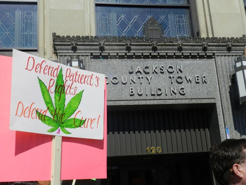 Today, medical marijuana patients and others rallied in Jackson.   April 9th, they are planning a much larger rally at the state capitol.