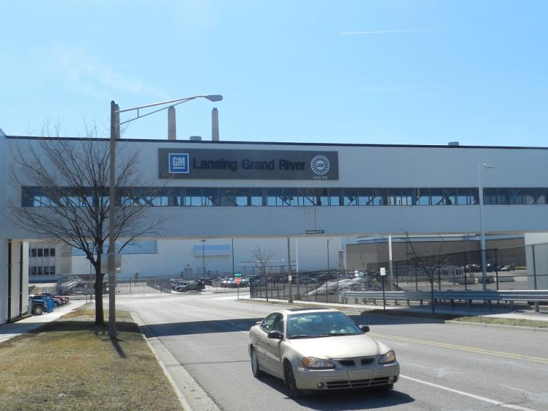 General Motors Lansing Grand River plant