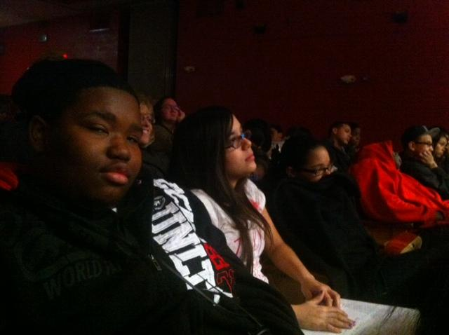 Ninth graders from Beecher High preview the show.