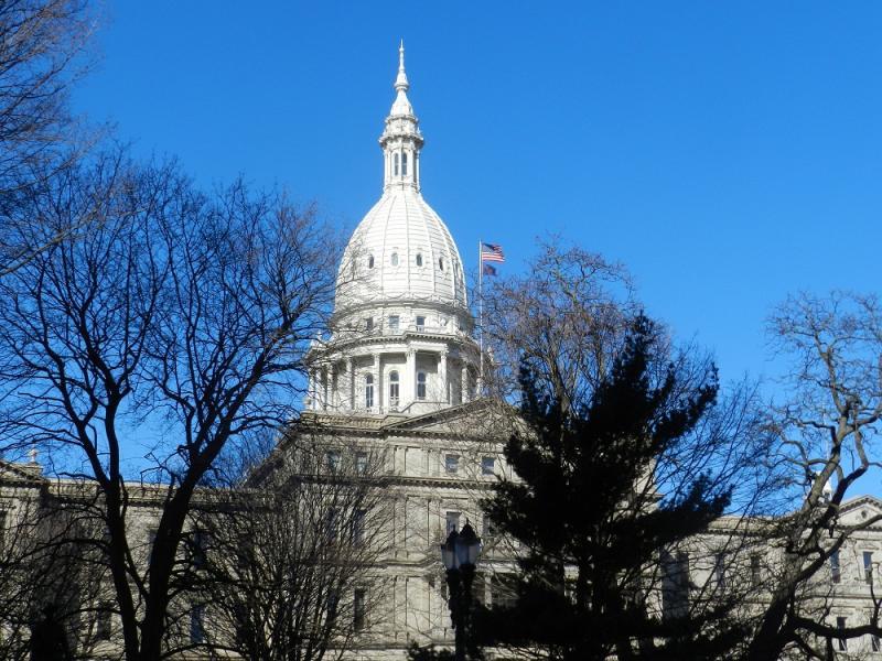 State capitol building, Lansing, Michigan