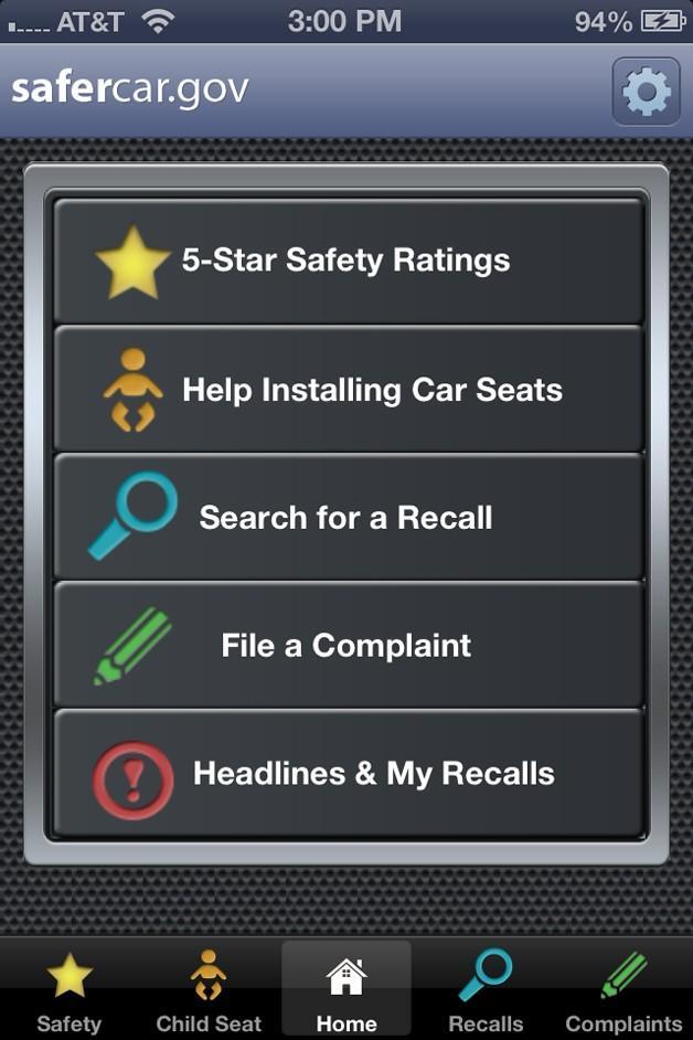 SaferCar app