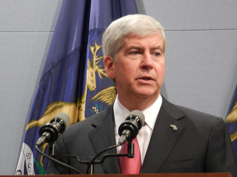 Gov. Rick Snyder (R-MI) (file photo)