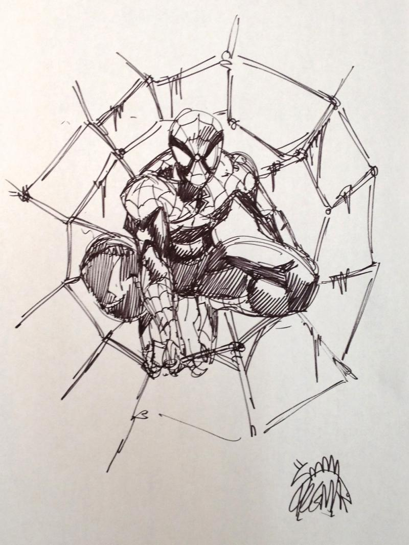 Ryan Stegman whipped up this sketch for us in Studio East in six minutes.