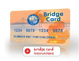 Bridge card for Summer EBT program
