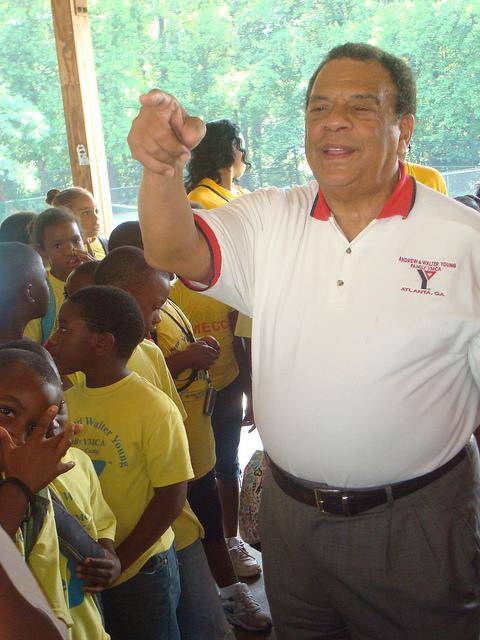 Andrew Young was Mayor of Atlanta for two terms in the 1980s