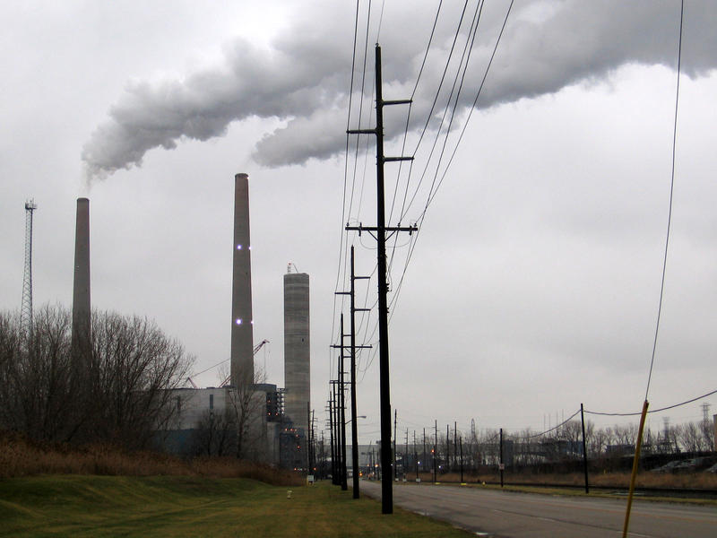 DTE's Monroe Power Plant would have to treat its coal slurry under a proposed EPA rule.