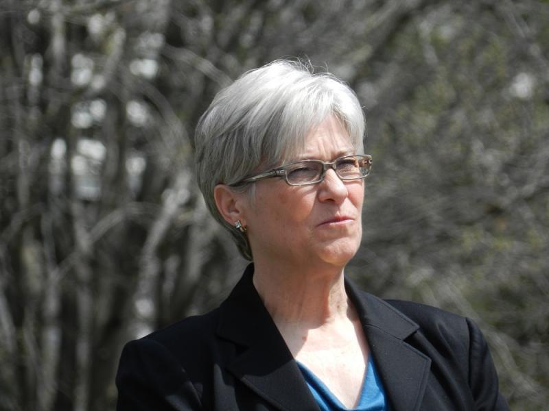 State AFL-CIO president Karla Swift