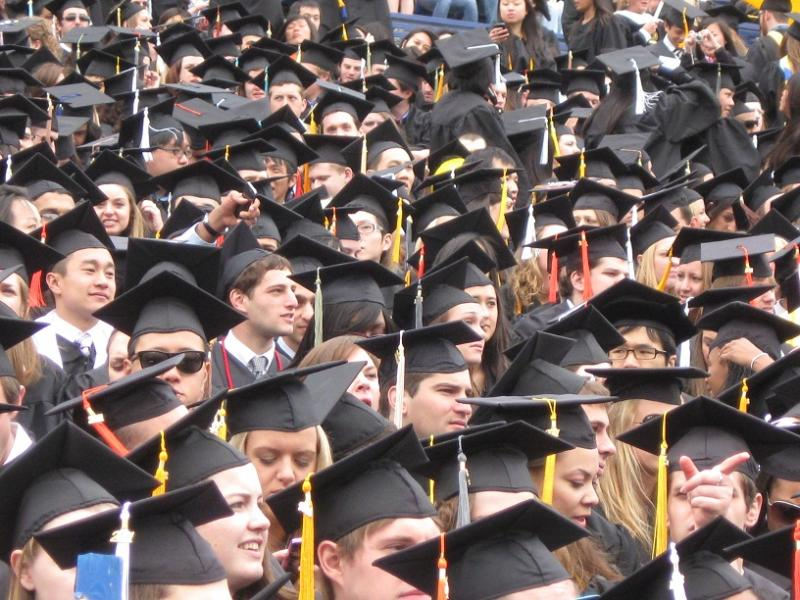 There are fewer high school graduates, which means colleges have to fight over students