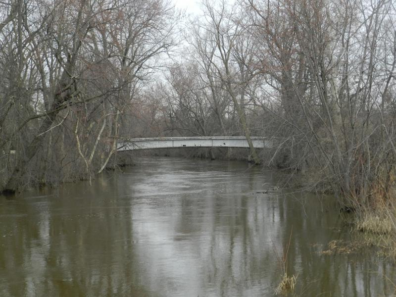 For many years, agricultural runoff made the Red Cedar River anything but unspoiled.   The university also banned fishing in the river to protect the East Lansing campus' status as a 'preserve'