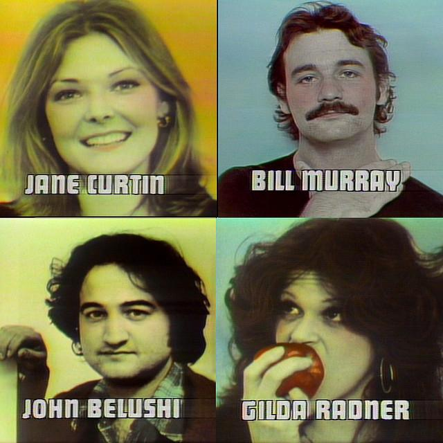 Gilda Radner in the first cast of SNL