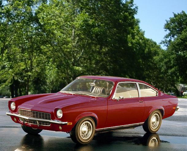 The Chevy Vega is featured on this season of Mad Men