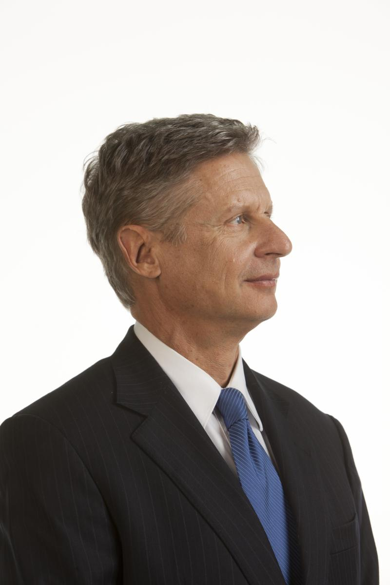 Gary Johnson sued after he was kept off the Michigan ballot last November.