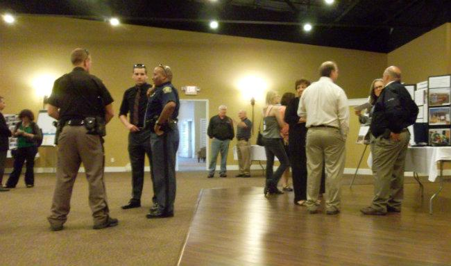 Around 80 people came to Palisades' open house Tuesday night at a conference center in South Haven.