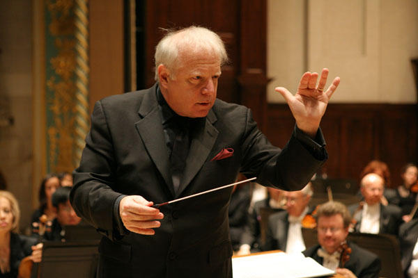 Slatkin is the music director of the Detroit Symphony Orchestra.