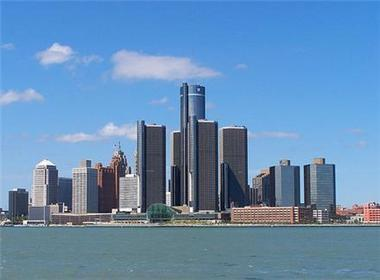 The city of Detroit.