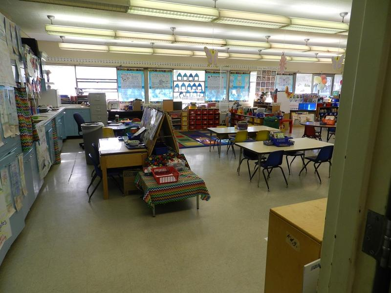 A classroom in Flint.