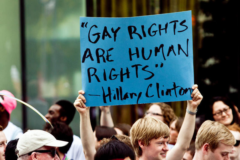 Photo from the 2011 Capital Pride Parade in Washington, D.C.