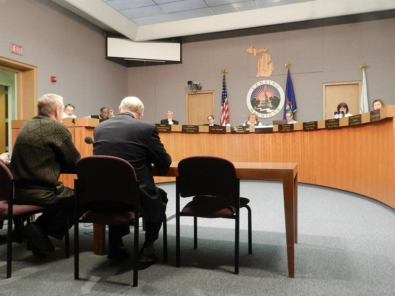 Earlier this year, the city council heard from a panel appointed to study Lansing's financial state.  The mayor incorporated some of the panel's recommendations in his proposed FY2014 budget.