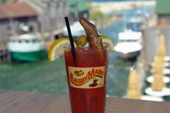 The Chubby Mary ® has a smoked chub in it.
