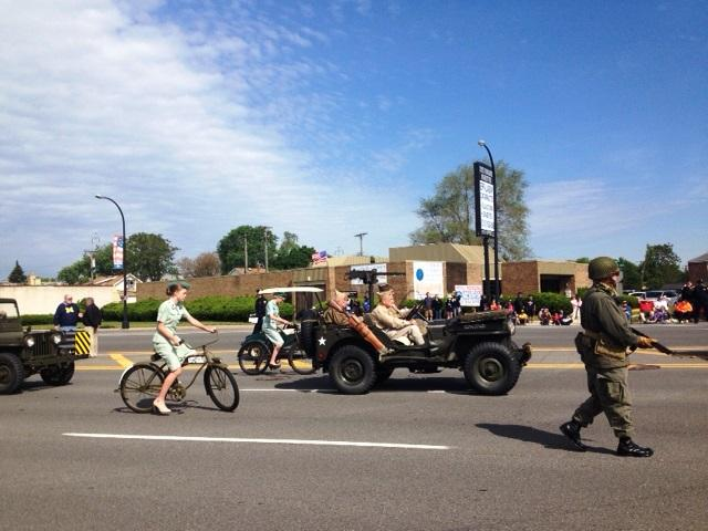 Dearborn holds one of the state's largest Memorial Day parades.