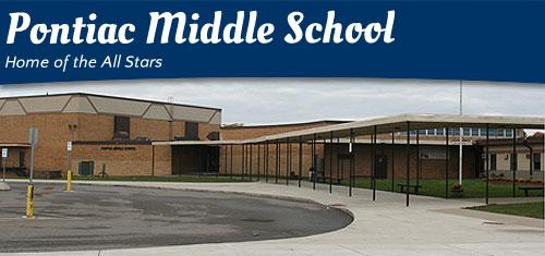 A screen cap of Pontiac Middle School.