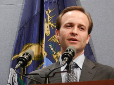 Lt. Gov. Brian Calley (R-MI) (file photo)