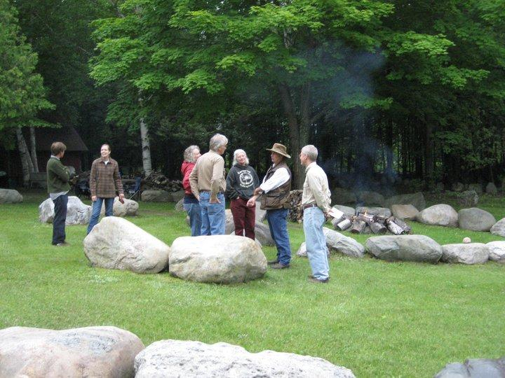 A gathering at Terry Wooten's Stone Circle