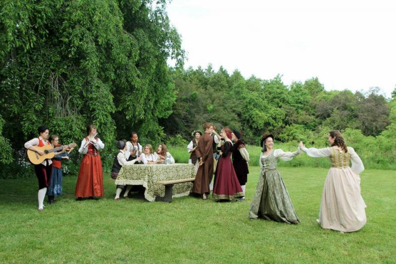 Shakespeare in the Arb performs Much Ado About Nothing