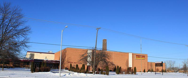 Inkster High School. The Inkster school system could be shut down under the legislation.