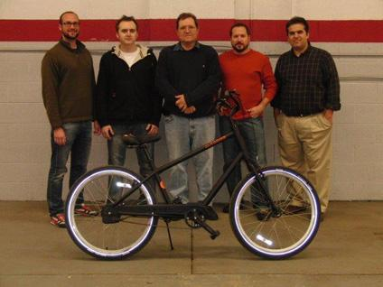 Staff members of AutoBike, Inc.