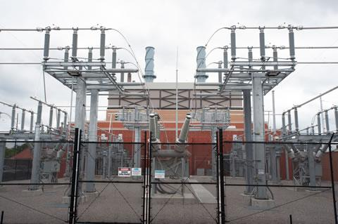 Lansing's new gas-fired power plant.