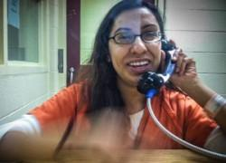 Claudia Munoz detained in the Calhoun County jail