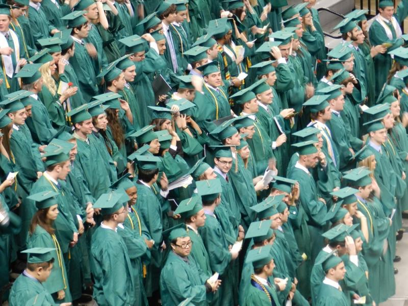 Michigan State University graduates (file photo)