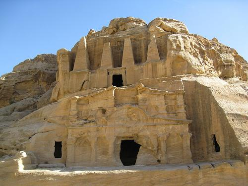 Petra was established in 312 BC.