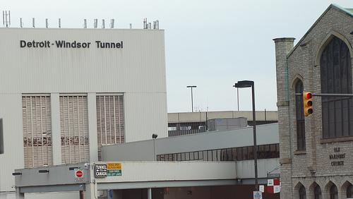 The Detroit-Windsor Tunnel
