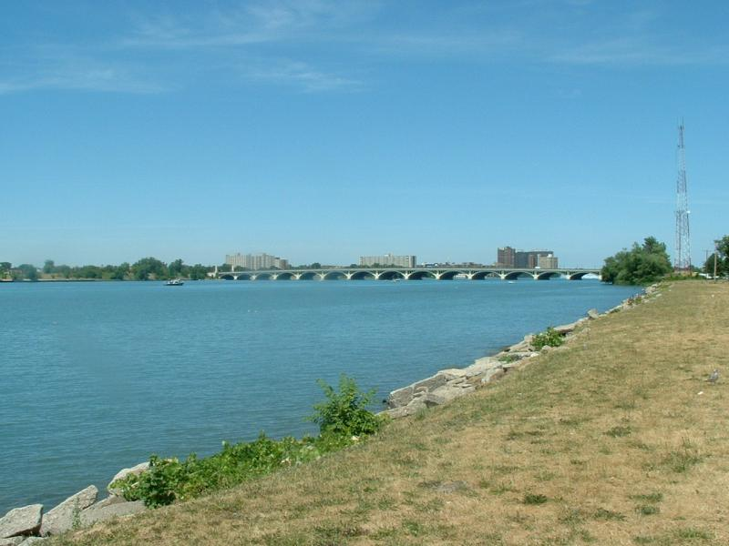 A beach at Belle Isle.