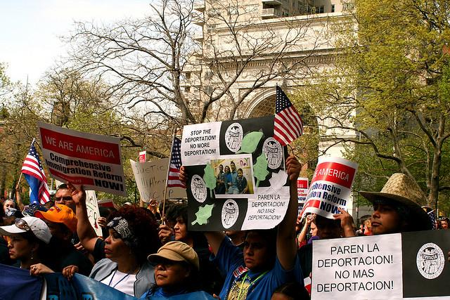 A protest for immigration reform