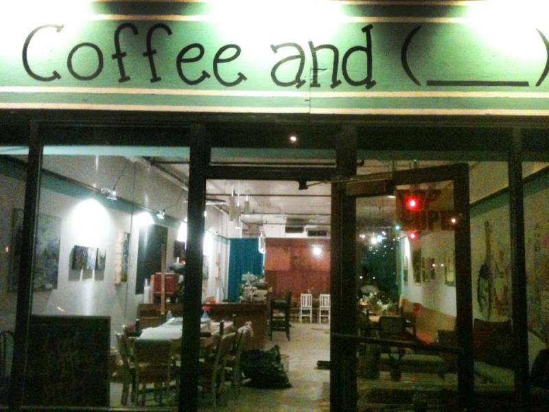 Coffee and ______ is Angela Foster's latest pop-up business.