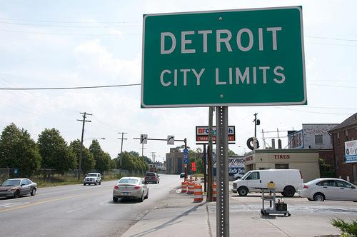 Some people, like Matthew Naimi, see bankruptcy as an opportunity to address what's wrong with Detroit.